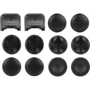 Speedlink trigger en analoge stick opzetstukken voor PS3 - TRIGGER controller add-on kit (individuele grip van analoge sticks - perfecte controle van de schouderknoppen - 5 ontwerpen voor verschillende spelgenres) zwart