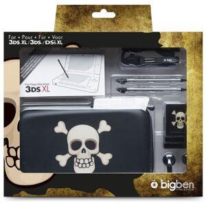 """BigBen Nintendo 3DS XL / new 3DS XL / 3DS / DSi XL - Zubehör-Set """"Pirates XL"""" (farbig sortiert)"""