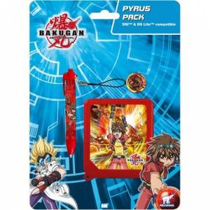 Unbekannt Onbekend Bakugan AWG80839 - AWG Pyrus Pack - DSi/DS Lite (Stylus + Game Case)