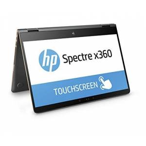 HP Spectre x360(15-bl002ng) 39,6cm (15,6inch/UHD uwva) convertible ultrabook 2-in-1Laptop (Intel Core i7–7500u, 16GB RAM, 256GB SSD, NVIDIA GeForce 940MX, Windows 10Home 64) Grijs/Koper