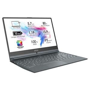 MSI Modern 14 A10M-615 (35,7 cm 14 inch IPS-Level, True Color) laptop (Intel Core i5-10210U, 8GB RAM, 512GB PCIe SSD, Intel UHD-graphics, Windows 10) Carbon-grijs