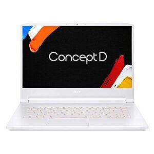 Acer ConceptD 7, wit (aluminium), Aluminium / wit