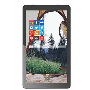 Prixton 1700Q 25,7 cm (10,1 Zoll) Tablet-PC (WiFi, Bluetooth, QuadCore AllWinner A33, 1 GB RAM, 8 GB interner Speicher, Android 5.0) wei/schwarz