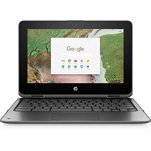 "HP Chromebook x360 11 G1 Silver 29,5 cm (11,6 "") 1366 x 768 pixels Touchscreen 1.10 GHz Intel Celer N3350"