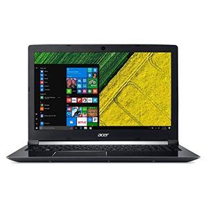 """Acer Aspire a71571g-52x KORDENADOR porttil de 15.6"""" fullhd (Intel Core i57300hq, 8GB RAM, 1TB HDD, NVIDIA GTX 1050m 2GB, Linux); Negroteclado QWERTY Spaans"""