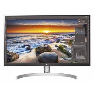 LG 27UL850-W 68, 58 cm (27 inch) UHD 4K IPS Monitor (HDR10, USB Type-C, 99% sRGB, AMD Radeon FreeSync), zwart wit