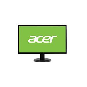 Acer Led-monitor, VGA, DVI, 5ms responstijd, glossy black, zwart