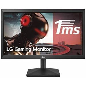 LG 20MK400H-B Computerbildschirm 50,8 cm (20 Zoll) WXGA LED Flach Matt Schwarz - Computerbildschirme (50,8 cm (20 Zoll), 1366 x 768 Pixel, WXGA, LED, 2 ms, Schwarz)
