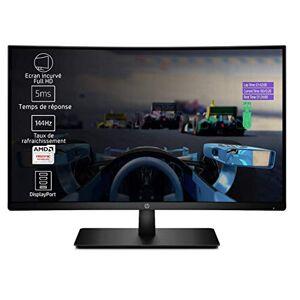 HP 27x 1AT01AA 68,58 cm (27 Zoll Full HD) Monitor (HDMI, Displayport, AMD-Freesync, 144Hz) schwarz