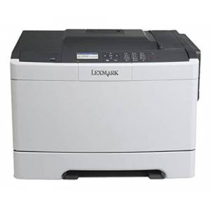 Lexmark cs410N Colour Laser printer (1200dpi, USB 2.0) Grafiet/wit