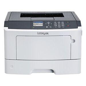 Lexmark ms610dn Monochroom laserprinter (klaar voor netwerkgebruik/LAN, Duplex, USB 2.0) Grafiet/wit