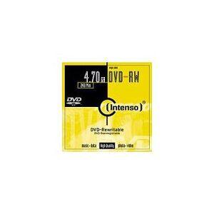 Intenso DVD-RW 4.7GB, 4x lege dvd's