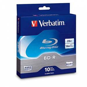 Verbatim 25GB BD-R 10-CT Spindle