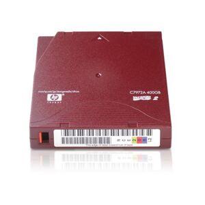 HP C7972A lege lto2-cartridges ultrium 400GB opslagmedium voor PC Rood