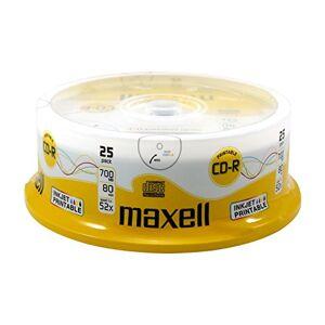 Maxell CD-R blanks 80min 700MB 52x bedrukbaak 25-delige spindel