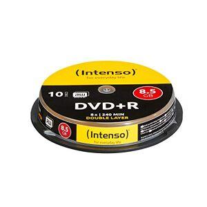 Intenso DVD+R 8.5GB, DL, 8x lege dvd's