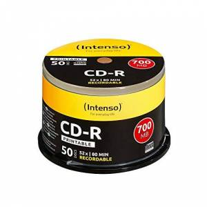 Intenso CD-R 700MB / 80min printable (her)schrijfbare cd's