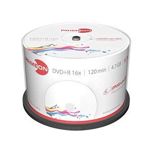 Primeon 2761226DVD + R blanks (16x Speed, 4.7GB, 120min, spindel) pak