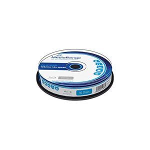 MediaRange MR499BD-R blu-ray disc 6x 25GB (10stuks)