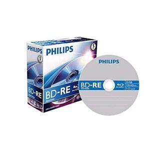Philips BE2S2J05C/00 BD-RE onbewerkte 2x 25GB 5er Jewel Case