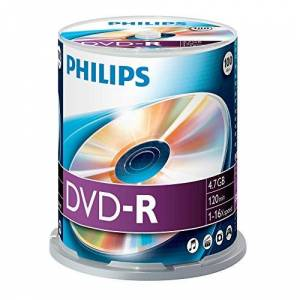 Philips DM4S6B00F/00 DVD-R 4 7GB 100 discs