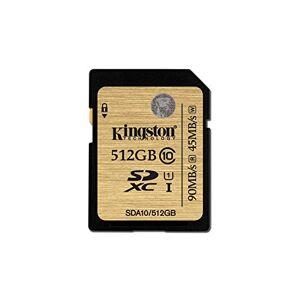 Kingston Profesional SDA10 UHS-I SDHC/SDXC SD-kaart, klasse 10, zwart