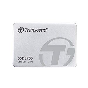 Transcend ssd370s interne (6,4cm (2,5inch), SATA III, MLC) met aluminium-behuizing Zilver, zilver 256GB