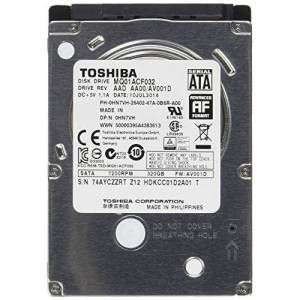 Toshiba 320GB MQ01ACF interne harde schijf