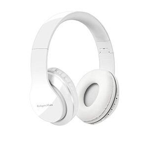 Krüger&Matz krüger & matz Bluetooth hoofdtelefoon Street BT opvouwbaar, sleuf voor microSD-kaart wit