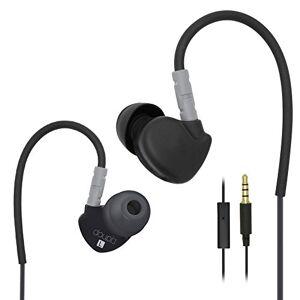 doupi® Sport Oortelefoon in-Ear hoofdtelefoon, grijs