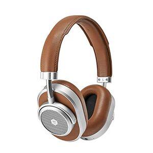 Master & Dynamic MW65 ANC draadloze over-ear hoofdtelefoon (Bluetooth 4.2 met AptX ondersteuning, actieve ruisonderdrukking, 24 uur accuduur universele maat