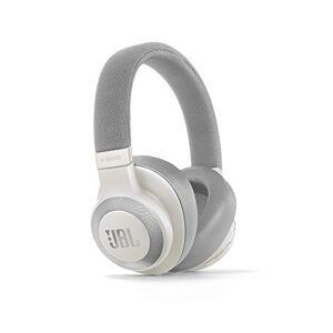 JBL E65BTNC Over Ear Bluetooth hoofdtelefoon Ooromsluiting. - wit