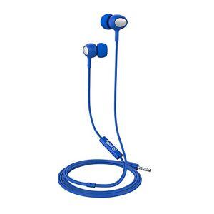 Celly-Stereo Kopfhrer 3.5mm Round Kabel blau