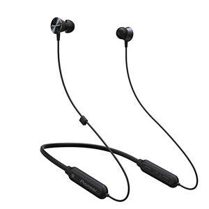 Pioneer SE-QL7BT(B) Bluetooth In-Ear Kopfhrer (Aluminiumgehuse, Bedienelement, Mikrofon, NFC, 7 Stunden Wiedergabe, hoher Tragekomfort, fr iPhone, Android Smartphones), Schwarz