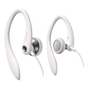 Philips SHS3300WT oortelefoon Hoofdtelefoon (Comfort, Stabiliteit, Flex Soft oorhaak) Wit