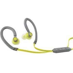 Soul Flex in-ear sport-hoofdtelefoon (waterafstotend, 3,5 mm klinkstekker, microfoon) In het oor groen
