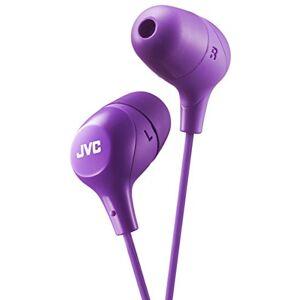 JVC in-Ear-hoofdtelefoon met hoog draagcomfort en veilige violet