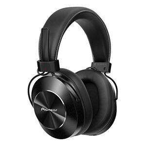 Pioneer SE-MS7BT-K Bluetooth hoofdtelefoon met handsfree functie, Hi-Res audio, NFC, ergonomisch gevormde oorkussens Single zwart