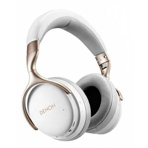 Denon AH-GC30 Wireless Noise Cancelling koptelefoon (40 mm driver, Bluetooth), wit