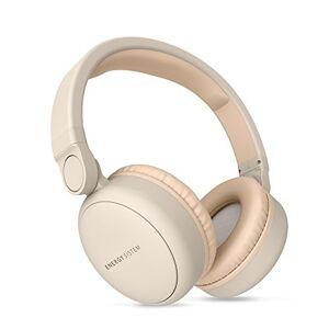 Energy Sistem Energy Headphones 2 Bluetooth Beige (Over-Ear, klappbar, wiederaufladbarer Akku, Audio-In)