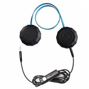Outdoor Tech. Outdoor Tech Wired Chips helm Binaural Bedraad Zwart, Blauw mobiele Headsetmobiele headsets (Binaural, helm, zwart, blauw, roulatie, ipx4, Bedraad)