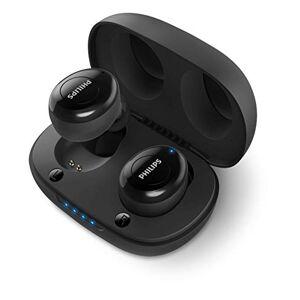 Philips in-ear UT102BK/00 True Draadloze hoofdtelefoon, bluetooth, 12 uur accuduur, gentegreerde microfoon, Siri, Google Assistant, draagbaar laadstation, zwart