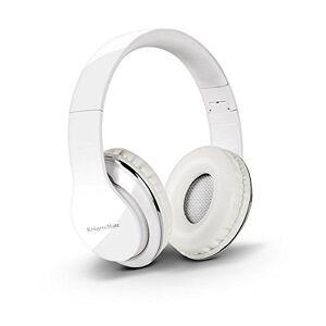 Krger&Matz Bluetooth hoofdtelefoon Street Bt opvouwbaar, sleuf voor MicroSD-kaart wit