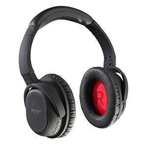 Lindy Headphones zwart, rood