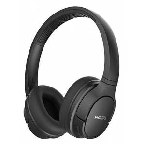 Philips Over Ear hoofdtelefoon SH402BK/00 draadloze sporthoofdtelefoon (Bluetooth, IPX4, 40 mm driver, 20 uur speeltijd), zwart