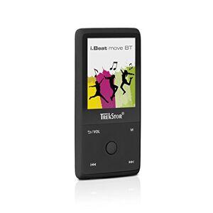 Trekstor i.Beat move BT Mp3-speler, met 4,6 cm (1,8 inch) tft-lc-display, bluetoothfunctie en 8 GB opslagruimte zwart