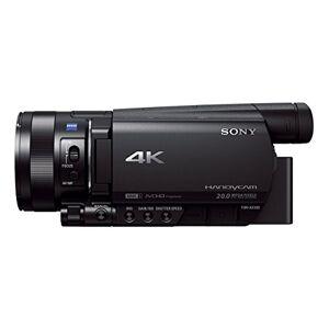 Sony fdr-ax100-ax100e 4K Ultra-HD-Camcorder (8,9cm (3,5inch) Display, 24P/25p//50i Full-HD-opnamen (4K in 24P/25p), ingebouwde nd-Filter) Zwart
