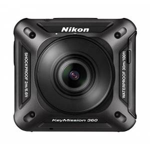 VQA020E1 Nikon 360 KeyMission Actioncamera, zwart