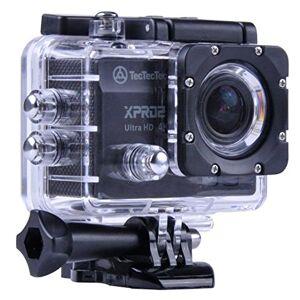 XPRO2BLACK TecTecTec, XPRO2, 4K Ultra HD-sportcamera, wi-fi, waterdichte camera, 16 Mp, zwart