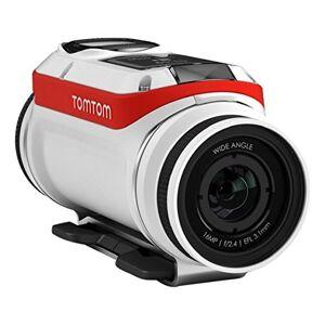 TomTom Bandit Action (BATT-Stick 1900mAh, Premium Pack (zie leveromvang), wit/rood/zwart, standaard